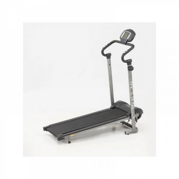 Banda de alergare magnetica fitness EVERFIT TFK SLIM MAG [0]