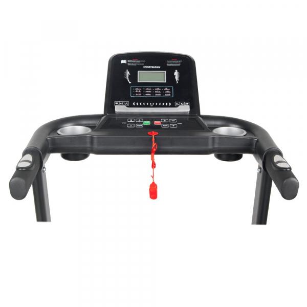 Banda de alergare electrica SportMann Intenso Sun, 2 CP, 120 kg [7]