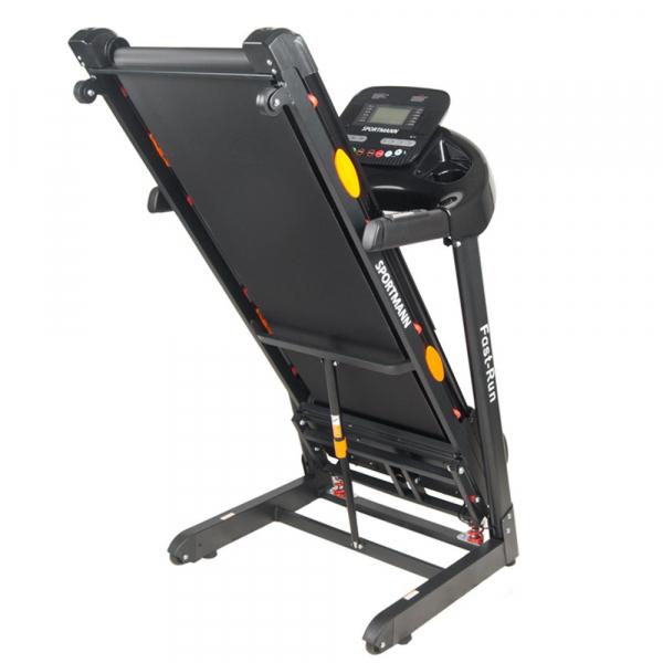 Banda de alergare electrica SportMann Fast-Run, 3 CP, 120 kg [9]