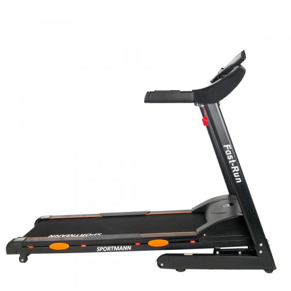 Banda de alergare electrica SportMann Fast-Run, 3 CP, 120 kg [1]