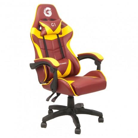 Scaun Gaming Gamer's Legend G1, Galben [1]