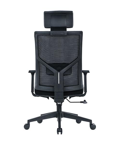 Scaun de birou ergonomic SeatTech Axis, Negru [1]