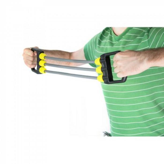 Extensor 3 Tuburi TECHFIT, Manere ergonomice, Gri [1]