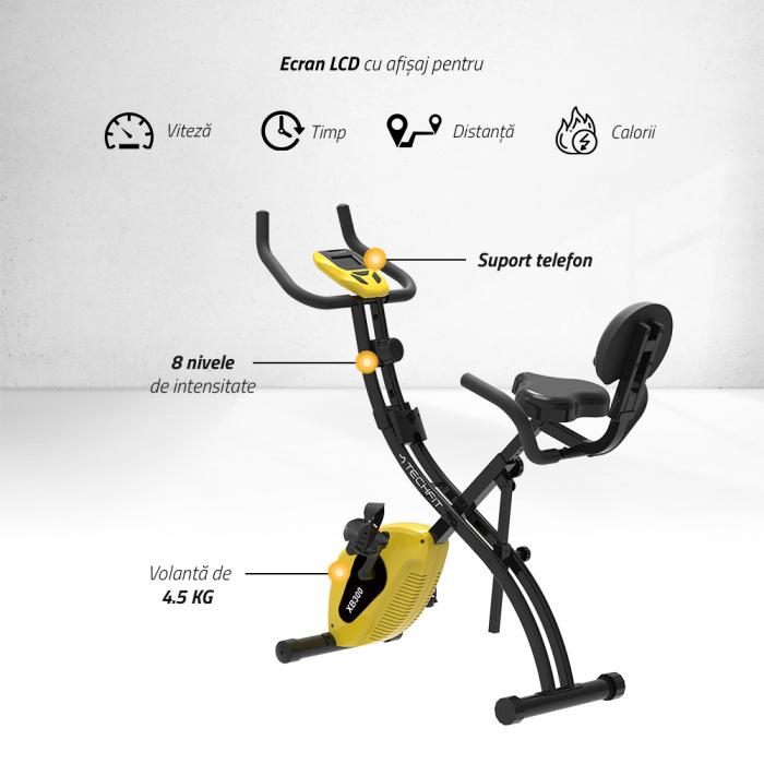 Bicicleta verticala magnetica pliabila XB300 [1]