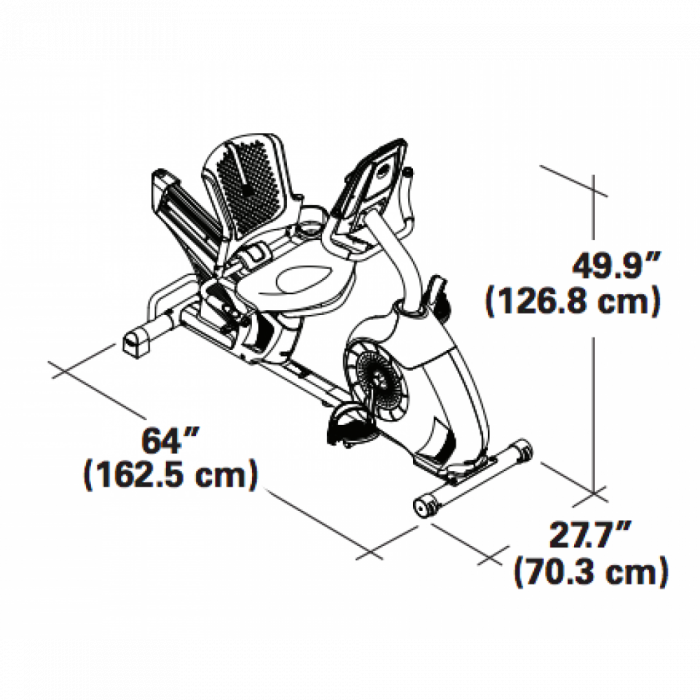 Bicicleta fitness orizontale SCHWINN 570R [2]