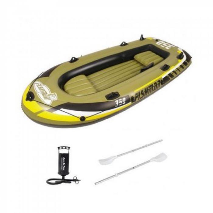 Barca gonflabila 350 Jilong Fishman, Pompa inclusa, Vasle incluse [1]