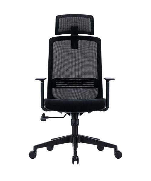 Scaun de birou ergonomic SeatTech Wave, Negru/Rosu [6]