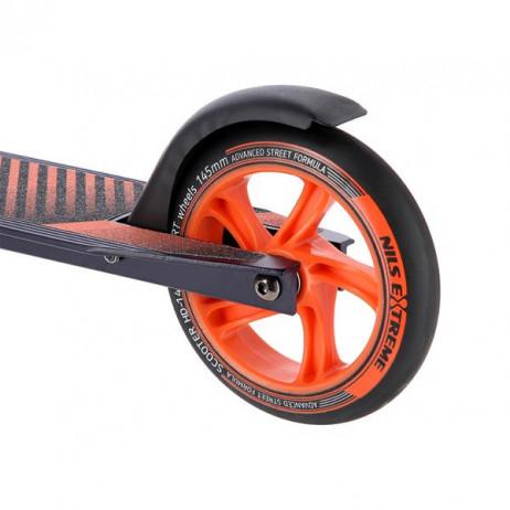 Trotineta Nils Extreme HD145 mm, grafit-portocaliu [4]