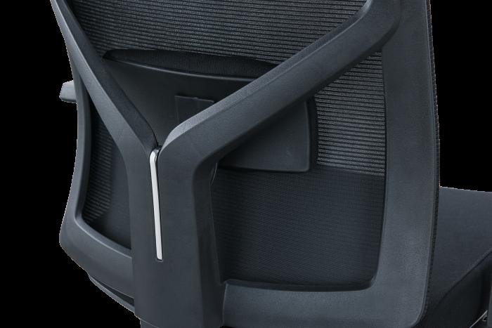 Scaun de birou ergonomic SeatTech Axis, Negru [4]