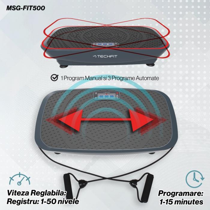 Placa vibromasaj TechFit VIBRO SHAPER MSG-FIT500 [4]