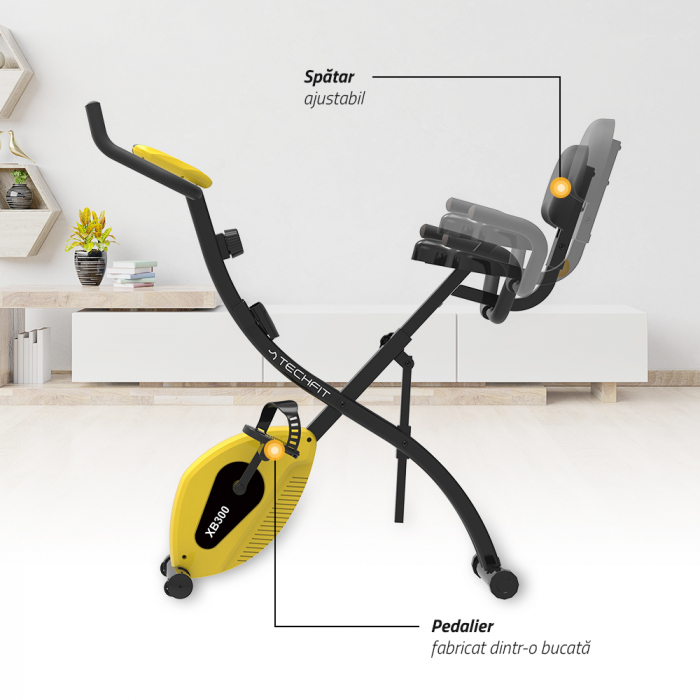 Bicicleta verticala magnetica pliabila XB300 [4]