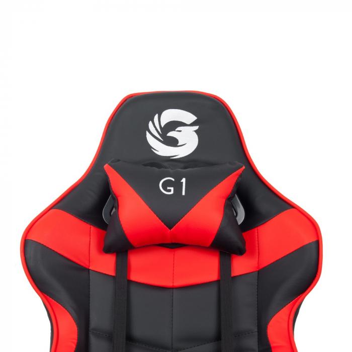 Scaun Gaming Gamer's Legend G1, Rosu [5]