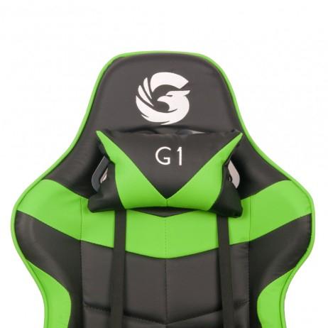 Scaun Gaming Gamer's Legend G1, Verde [6]