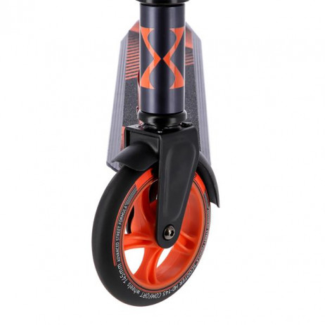 Trotineta Nils Extreme HD145 mm, grafit-portocaliu [7]