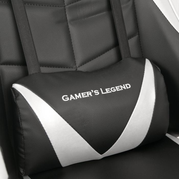 Scaun Gaming Gamer's Legend G1, Gri [7]