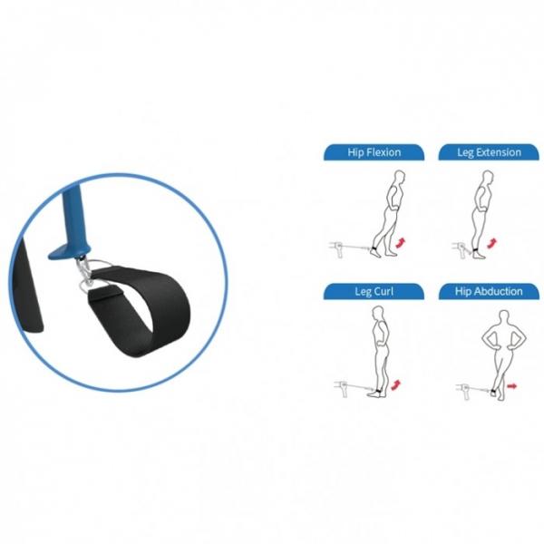 Aparat de vaslit multifunctional  Impulse Fitness Ski & Row HSR007-WX [3]