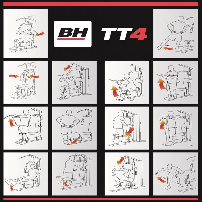 APARAT MULTIFUNCTIONAL - TT4 - BH FITNESS [2]