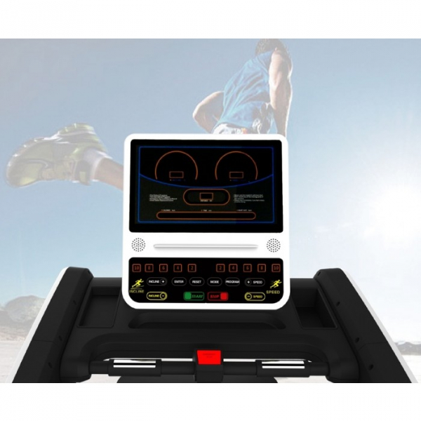 Banda de alergare comerciala MS Fitness MS95-LED, 20 km/h, 150 kg, Inclinatie 20% [1]