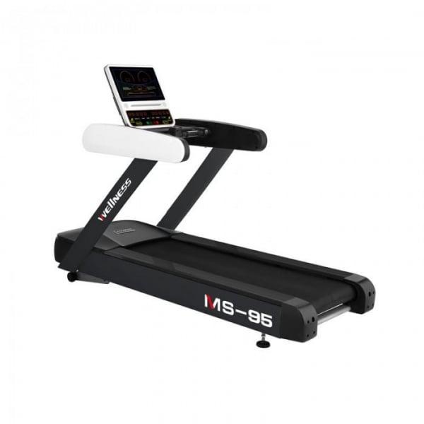 Banda de alergare comerciala MS Fitness MS95-LED, 20 km/h, 150 kg, Inclinatie 20% [0]