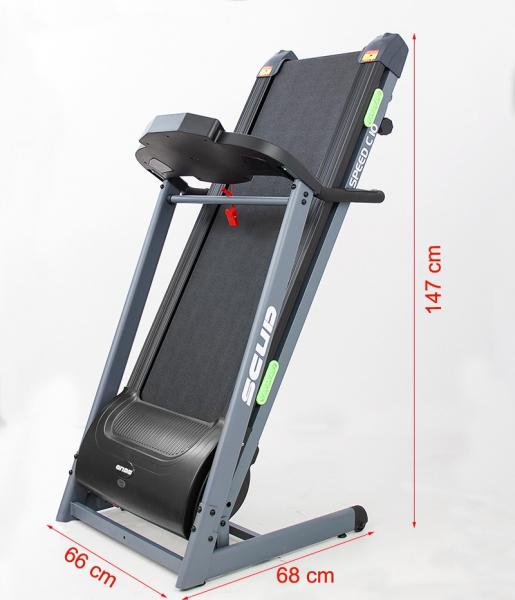 Banda de alergare electrica Scud Speed C10, 4 CP, 110 kg [0]