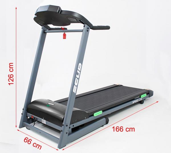 Banda de alergare electrica Scud Speed C10, 4 CP, 110 kg [1]
