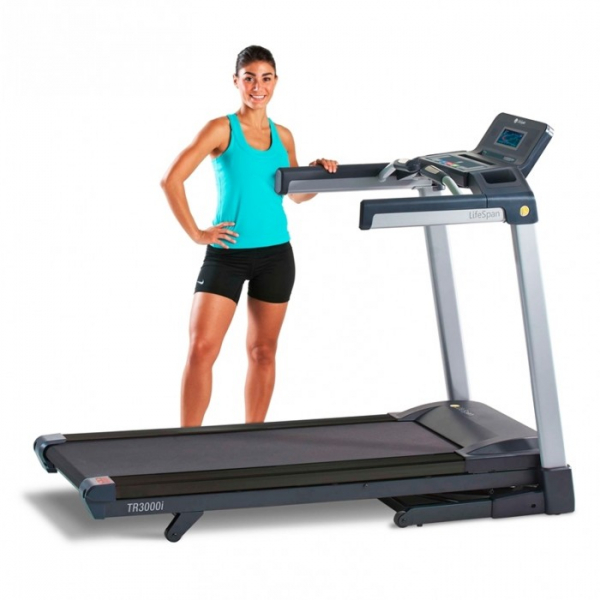Banda de alergare pliabila LifeSpan TR3000iT, 2.75 CP, 19 km/h, pliabila [2]