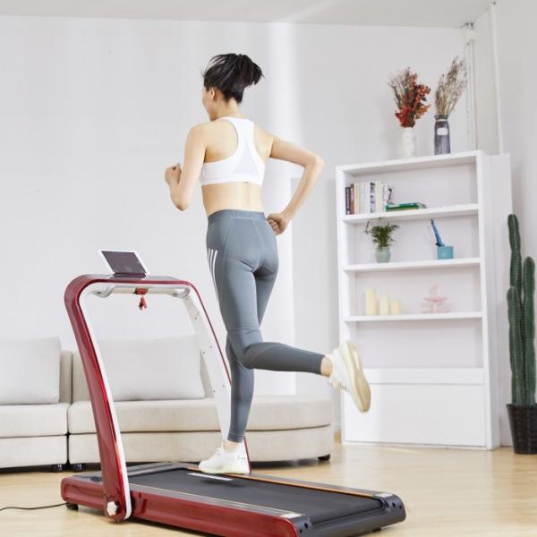 Banda de alergare pliabila The Way Fitness HT03, 2 CP, 100 kg, 12 km/h [5]