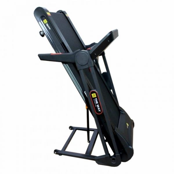 Banda de alergare pliabila The Way Fitness OFT1001, 2.25 CP, 120 kg, 16 KM/H, Negru [2]