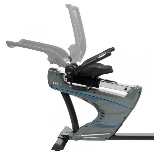 Bicicleta fitness recumbent electromagnetica HMS Premium R1817 [11]