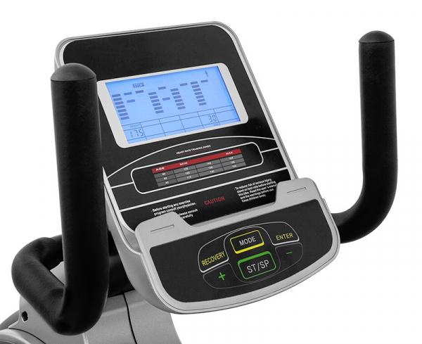 Bicicleta fitness recumbent electromagnetica Scud U7 Huis [3]