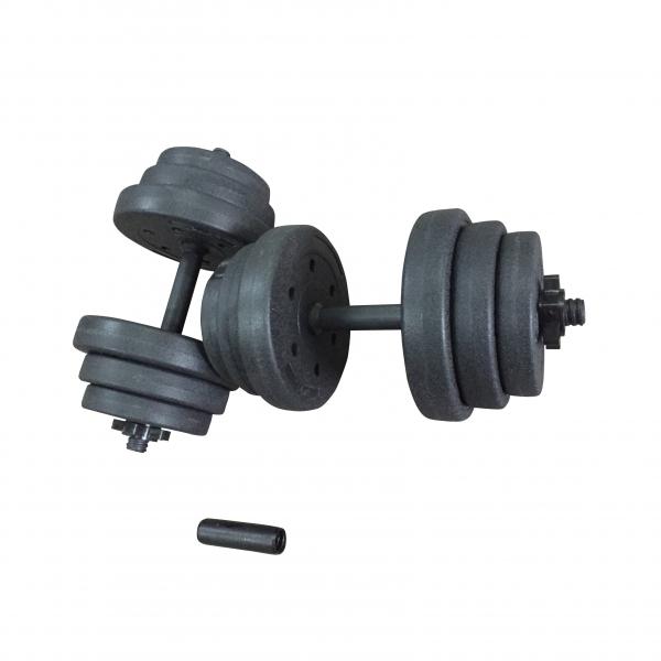 Set gantere reglabile & bara 42 kg Dayu Fitness [0]