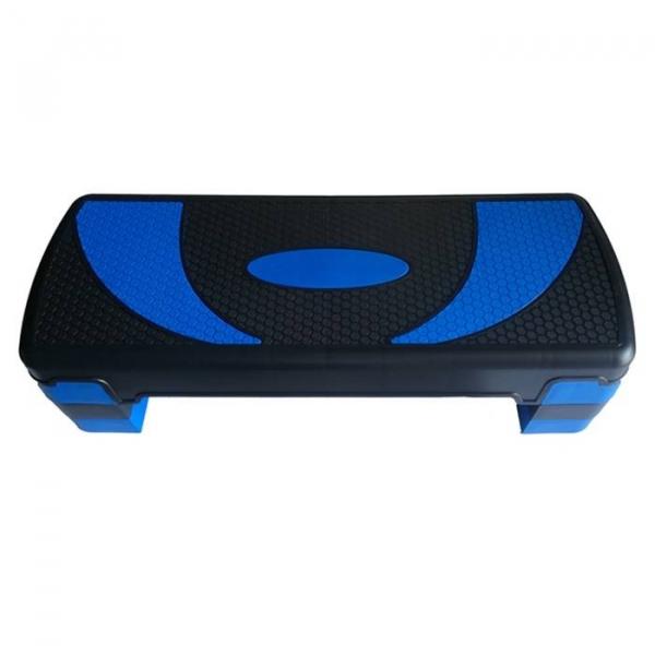Stepper reglabil pe 3 niveluri de inaltime albastru Dayu Fitness Albastru [0]