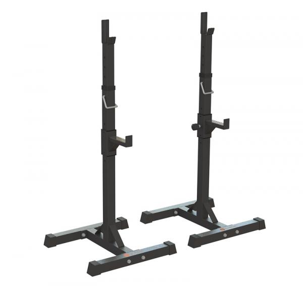 Suport bara Half-Rack independent, 120 kg, Sveltus [0]