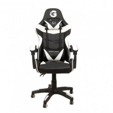 Scaun Gaming Gamer's Legend G1, Alb [0]
