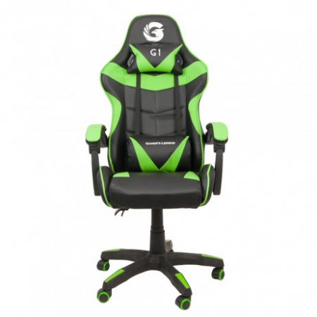 Scaun Gaming Gamer's Legend G1, Verde [0]