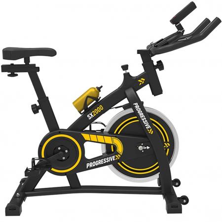 Bicicleta fitness Progressive SX2000, + 6 luni Kinomap gratis [1]