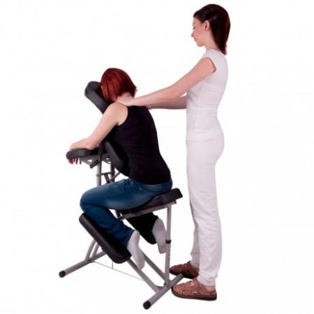 Scaun din aluminiu pentru masaj inSPORTline Relaxxy [10]