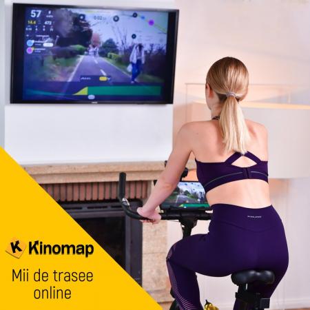 Bicicleta fitness Progressive SX2000, + 6 luni Kinomap gratis [4]