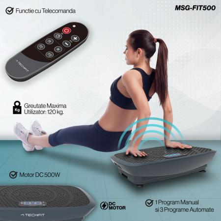 Placa vibromasaj TechFit VIBRO SHAPER MSG-FIT500 [1]
