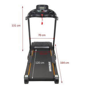 Banda de alergare electrica SportMann Fast-Run, 3 CP, 120 kg [2]
