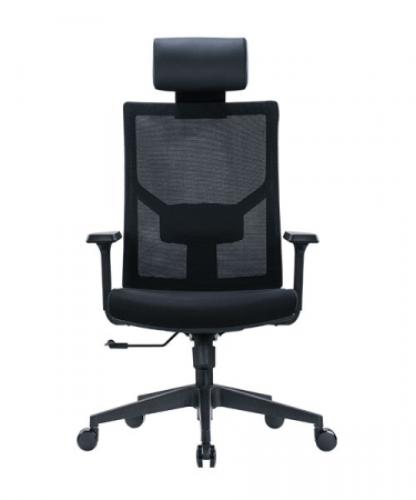 Scaun de birou ergonomic SeatTech Axis, Negru [2]