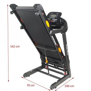 Banda de alergare electrica SportMann Fast-Run, 3 CP, 120 kg [3]