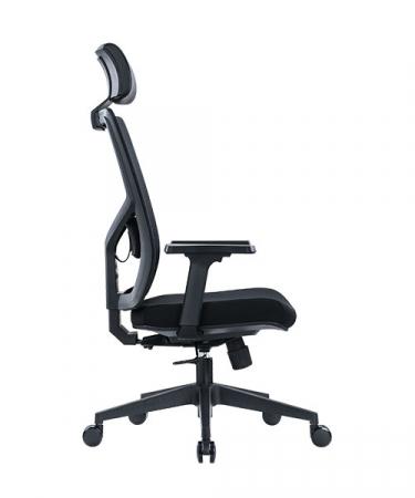 Scaun de birou ergonomic SeatTech Axis, Negru [3]