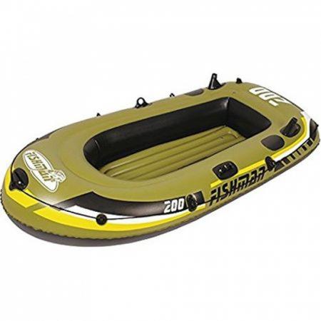 Barca gonflabila 350 Jilong Fishman, Pompa inclusa, Vasle incluse [0]