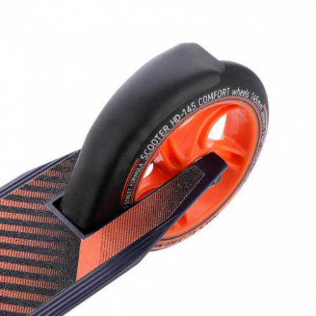 Trotineta Nils Extreme HD145 mm, grafit-portocaliu [5]