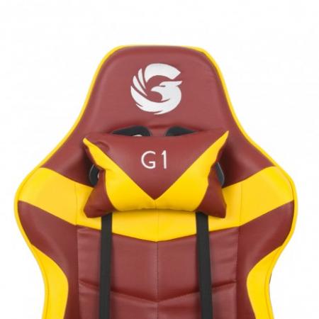 Scaun Gaming Gamer's Legend G1, Galben [6]