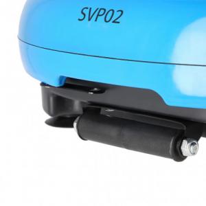 Aparat de vibromasaj SVP02 Loop Albastru [7]