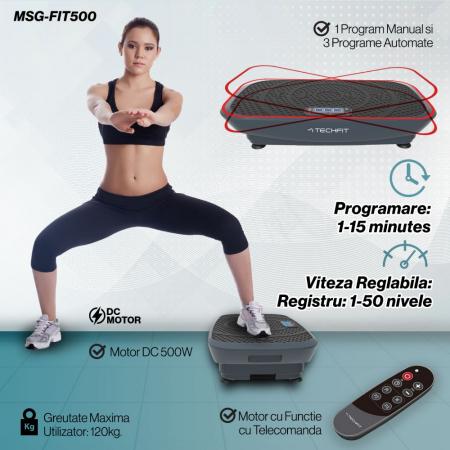 Placa vibromasaj TechFit VIBRO SHAPER MSG-FIT500 [7]