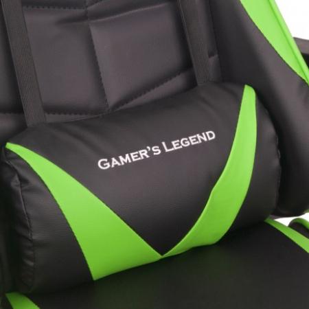 Scaun Gaming Gamer's Legend G1, Verde [8]