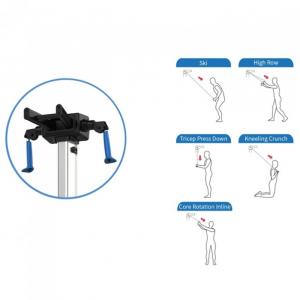 Aparat de vaslit multifunctional  Impulse Fitness Ski & Row HSR007-WX [4]